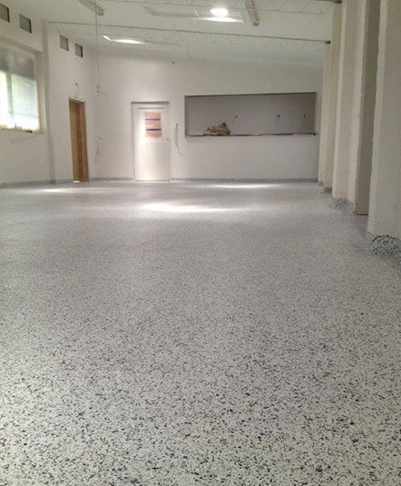 Vinyl Chip Floor Coating